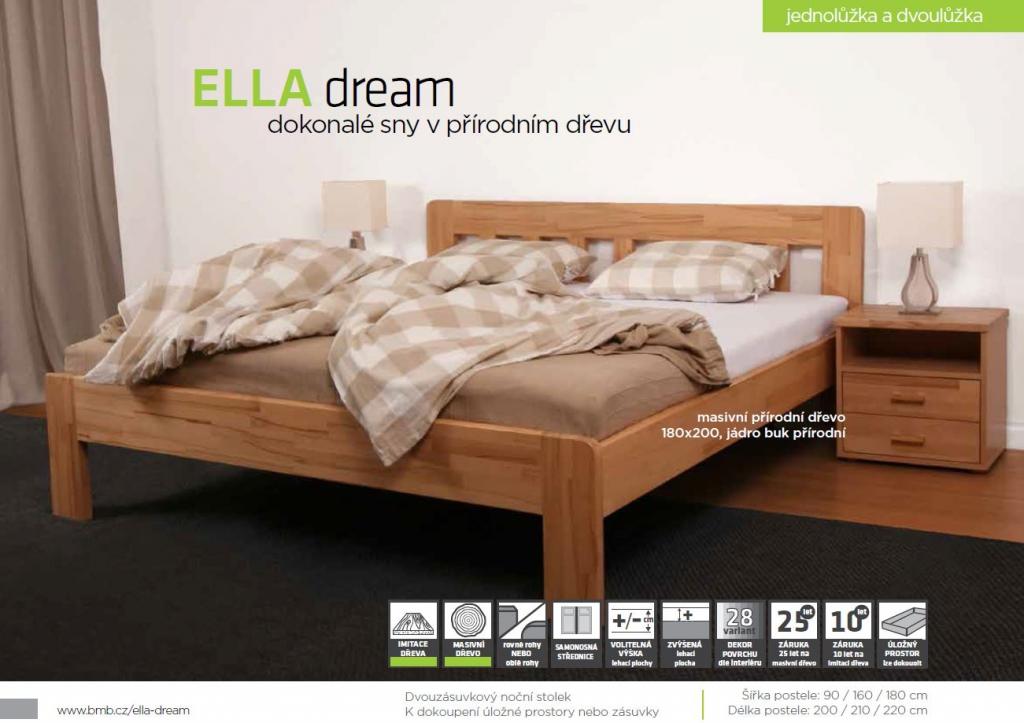 BMB Postel Ella Dream masiv buk
