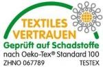 CERTIFIKÁT KVALITY Oeko-Tex®  Standard 100.