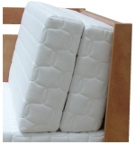 Postel Tandem Klasik - provedení rovné rohy - opěrná část z 2 x 45 x 200 cm matrace..