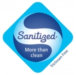 Antibacteriální pěna Sanitized - Švýcarsko.