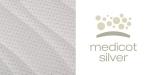 Potah Silver + 3D mřížka po celém obvodu matrace + lemovka - potah je snímatelný, dělitelný na dvě části a pratelný do 60°C.