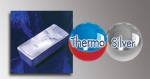 """ThermoSilver je pěna se schopností termoregulace zón, které jsou v kontaktu s tělem, čímž se vytváří ideální mikroklima. Tento typ pěny je vyroben s mikrokapslemi nazývanými PCM """"Phase Changing Material – Materiál měnící skupenství""""."""