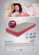 Matrace Blue Medic D.P.V.- Řešeto. Luxusní 7 zónová matrace je vyrobena z ANTIBAKTERIÁLNÍ pěny a dvou roznášecích vrstev ze SILVER FOAM®, které přináší vysokou hygienu do Vaší ložnice.