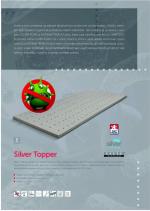 Topper Blue D.P.V. ŘEŠETO. Krycí matrace slouží pro zpříjemnění povrchu, dodává matraci větší komfort a poskytne lepší oporu páteře.