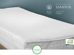 Matracový chránič Sanipur je vodonepropustná ochrana matrací před znečištěním v paropropustné úpravě.