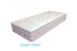 Potah Mitch prošívaný s lemovkou, snímatelný, dělitelný a pratelný do 60°C.