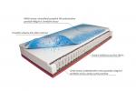 Matrace Eget Mabo 1+1 ZDARMA. Velmi pohodlná pružinová matrace s antibakteriální úpravou. Výška matrace je v potahu 27 cm, což výrazně zvyšuje komfort při ležení.