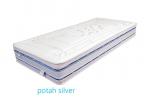 Potah Silver + 3D mřížka + 350g/m2 duté PES vlákno.