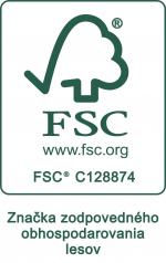 FSC Certifikát: firma Materasso jako první výrobce lamelových roštů na slovensku získala v roce 2016 certifikát FSC který je důvěryhodný systém sledování a garance původu dřeva.