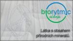 """Odnímatelný potah BIORYTMIC látka s obsahem přírodních minerálů, které vyzařováním přirozené energie pozitivně ovlivňují vnitřní tělovou """"komunikaci"""" a proudění energetických toků."""