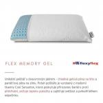 Anatomický polštář Flex Memory Gel FlexyFlex Italy